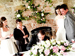 Beautiful church and civil ceremony wedding flowers by The French Touch